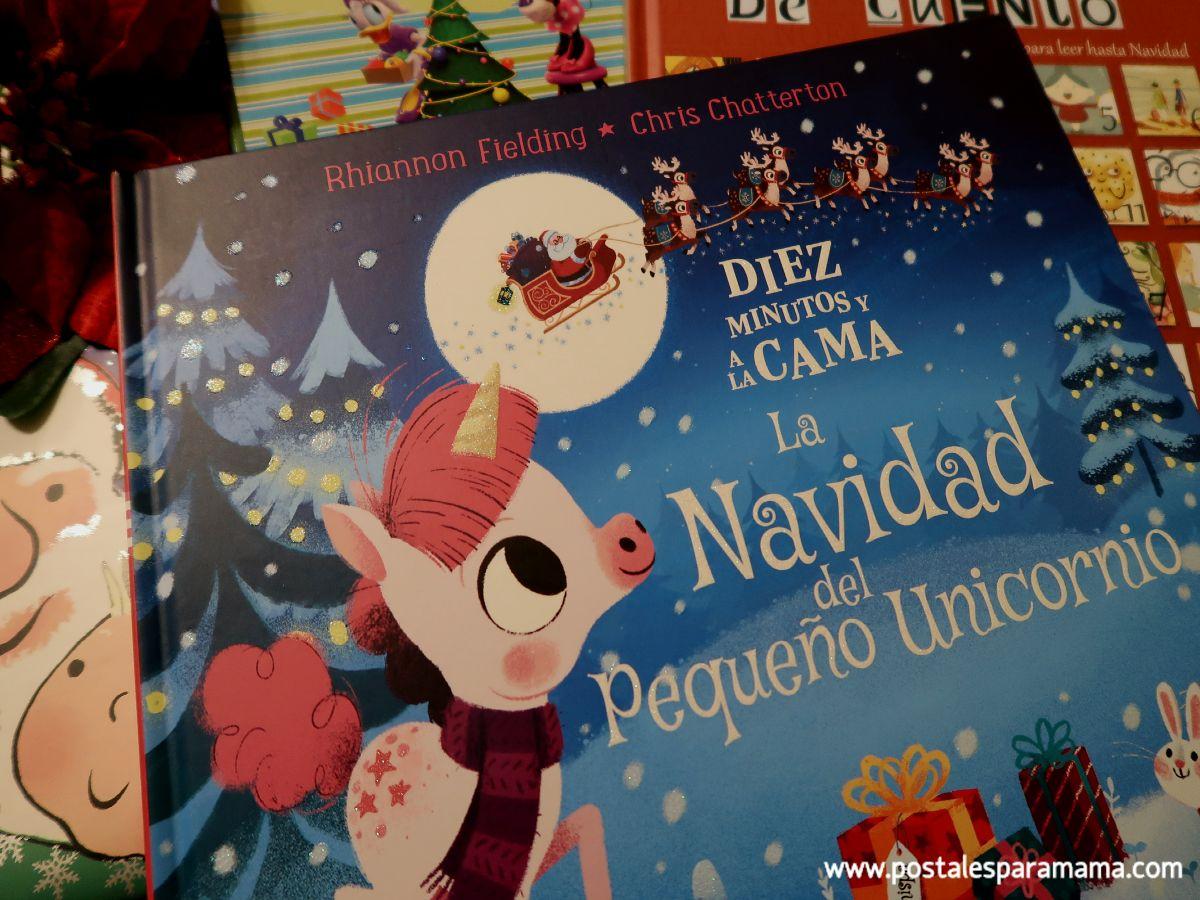 Navidad Pequeño Unicornio
