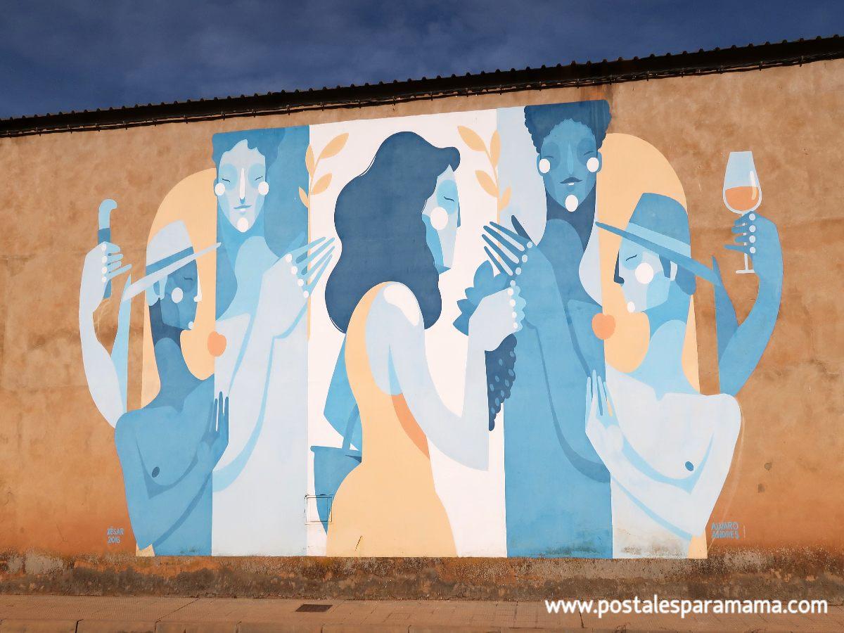 Ruta de las pinturas murales de Alfamén (con mapa)