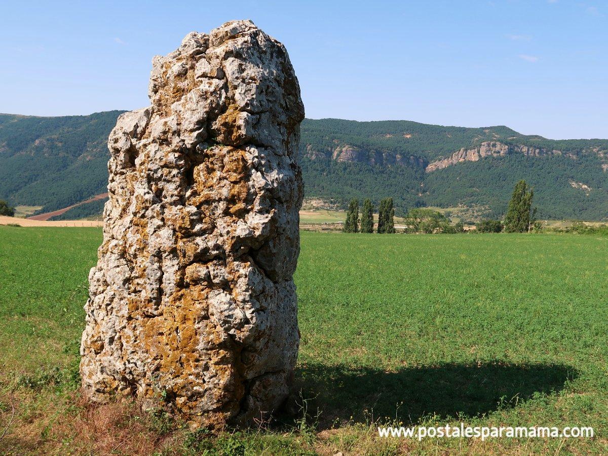El gran menhir de Merli (Huesca)